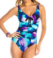 MagicSuit Eden Amy Ruched Waist One Piece Swimsuit 453403