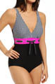 Maidenform Beach Optic Dot One Piece Swimsuit 6403000
