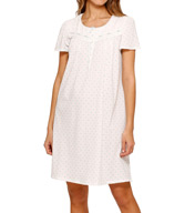 Aria Soft Glow Short Sleeve Nightgown 8014999