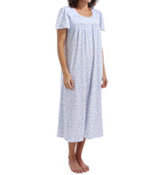 Aria Flowery Short Sleeve Ballet Nightgown 8414954