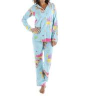 BedHead Pajamas Around The World Long Sleeve Classic PJ Set 2457