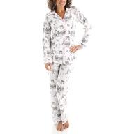 BedHead Pajamas Cafe Du Paris Long Sleeve Classic PJ Set 2522