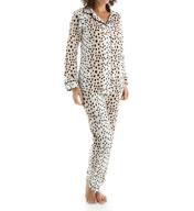BedHead Pajamas Royal Animal Long Sleeve Classic PJ Set 2525