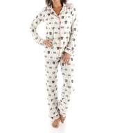 BedHead Pajamas Forever A Queen Long Sleeve Classic PJ Set 2538