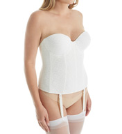 Carnival Invisible Lace Strapless Full Coverage Bustier 425