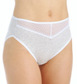 Vanity Fair Beautifully Smooth Cotton Hi-Cut Brief Panty 13129