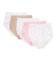 Vanity Fair True Comfort Cotton Brief Panty - 5 Pack 13330