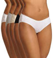 Vanity Fair True Comfort Cotton Stretch Hipster Panty - 5 Pack 18343